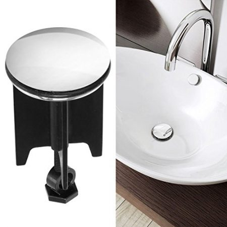 passend f/ür alle handels/üblichen Waschbecken hochwertige Qualit/ät ✶✶✶✶✶ Waschbeckenst/öpsel Vanda