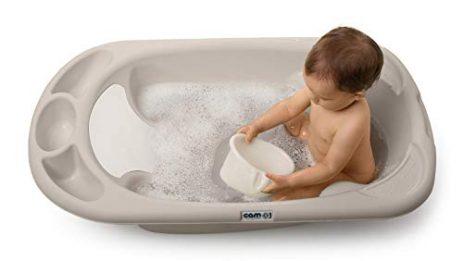 T/ÜV Rheinland gepr/üfte Baby Badewanne Babybadewanne mit St/öpsel zum Wasserablassen Sicheres Baden Babywanne 86cm mit integriertem Thermometer
