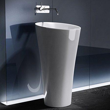 Säulenwaschbecken , Freistehendes Waschbecken & Waschsäule