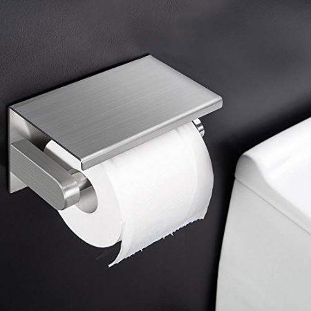 Toilettenpapierspender, WC Papierhalter & Klopapierrollenhalter