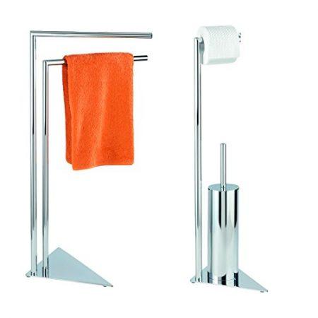 Toilettenbürstengarnitur, WC Bürstenhalter & Klobürsten Set