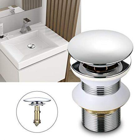 Waschbecken Röhrensifon, Abflussgarnitur für Waschtisch & Überlaufgarnitur für Waschbecken