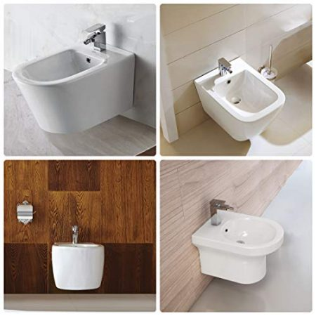 Reinigung des Intimbereichs , Sitzwaschbecken & niedriges Waschbecken zur Reinigung der Genitalien