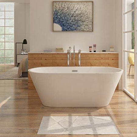 Badewanne im freien, Badewanne offenstehen & Freistehende Wanne für das Badezimmer