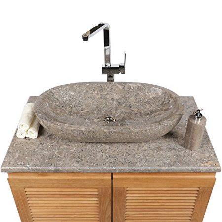 Marmor Handwaschbecken, Ausfatzwaschbecken aus der Gesteinsart Marmor & Waschbecken aus Marmor