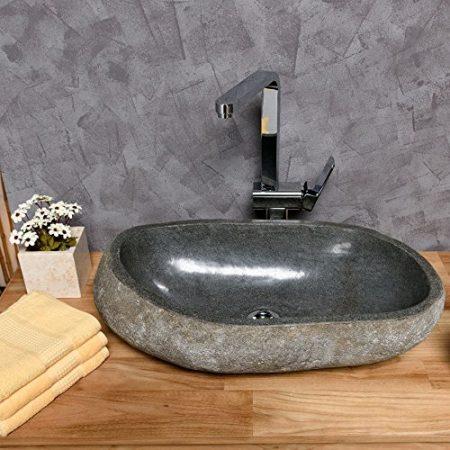 Naturstein Handwaschbecken, Waschschale aus Naturstein & Steinwaschbecken